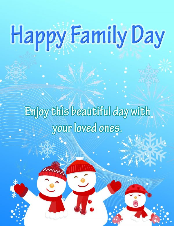 Enjoy This Beautiful Day With Your Loved Ones