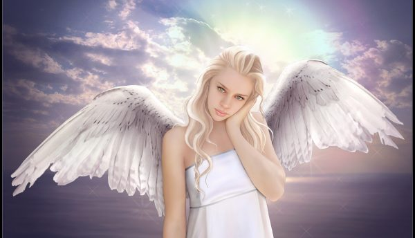 Fantasy Angel Girl