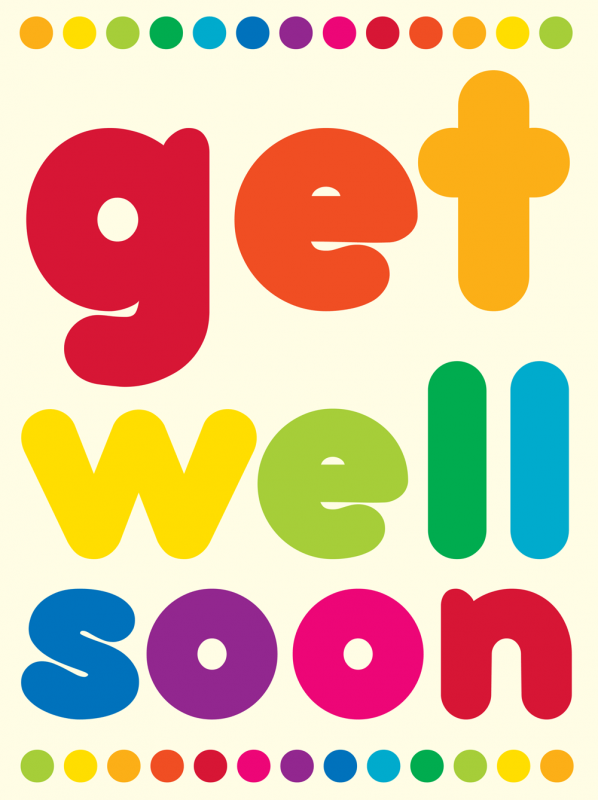 Get Well Soon Awesome Image