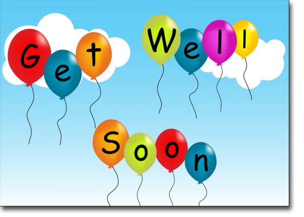 Get Well Soon Balloons Image