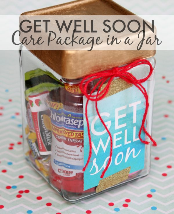 Get Well Soon Care Package In A Jar
