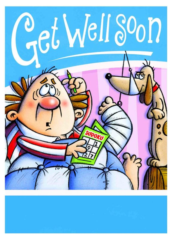 Get Well Soon Cartoon Image