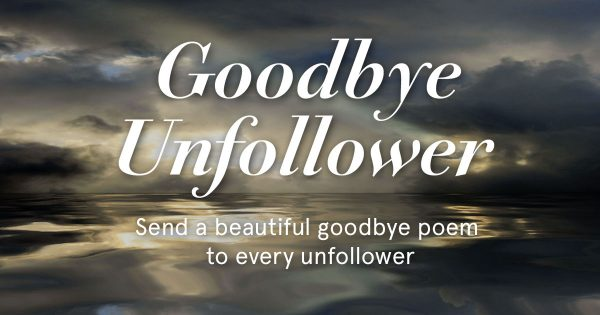 Picture: Good Bye Unfollower