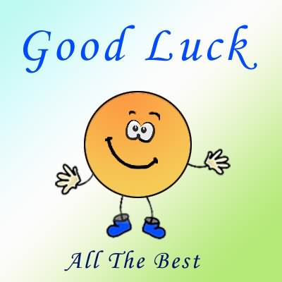 Good Luck All The Best Smiley