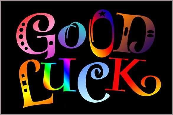 Good Luck Colorful Graphic