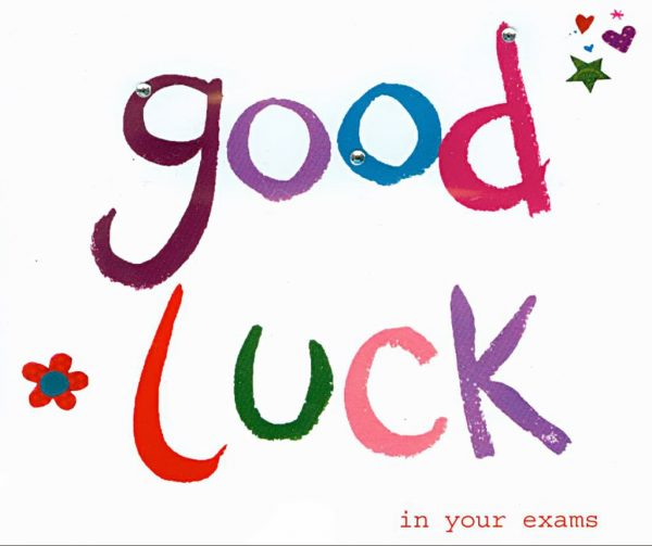 Good Luck In Your Exams Nice Image