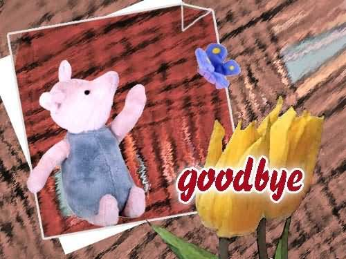 Goodbye Piglet Graphic
