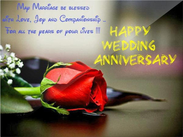 Happy Wedding Anniversary Image