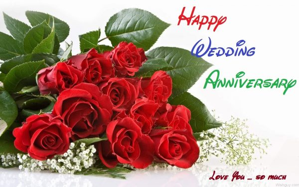 Happy Wedding Anniversary Love You So Much