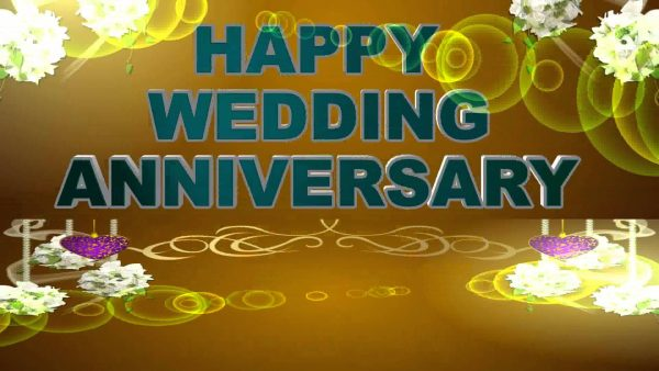 Happy Wedding Annivesary