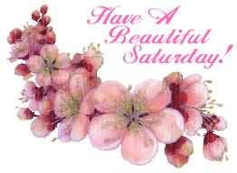 Have A Beautiful Saturday Graphic