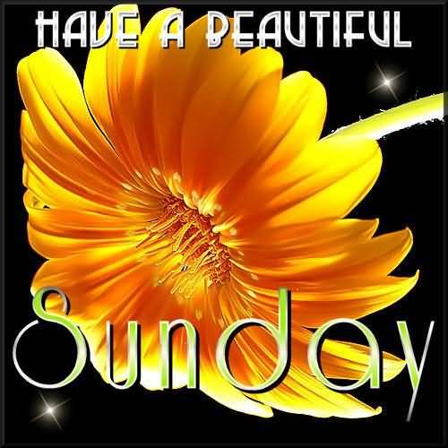 Have A Beautiful Sunday Graphic