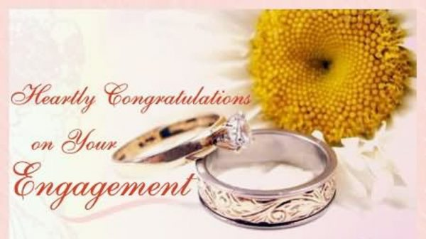 Hearty Congratulation On Your Engagement.