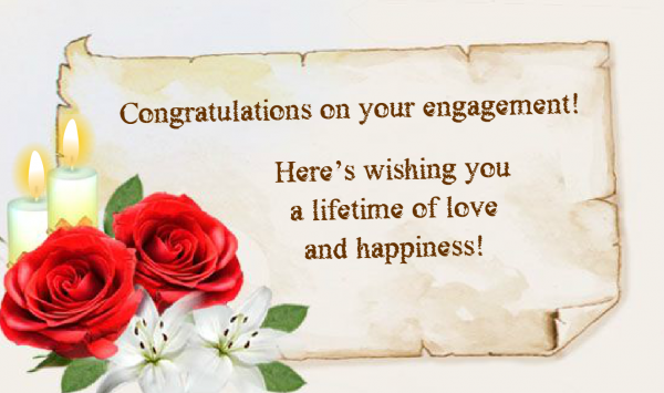 Here Wishing You A Lifetime Of Love And Happiness