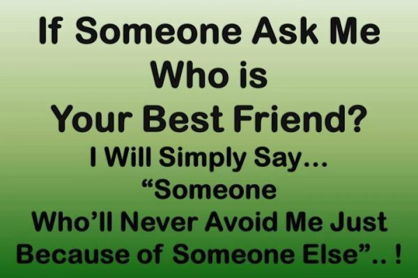 Picture: If Someone Ask Me Who Is Your Best Friend