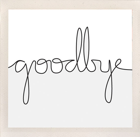 Image Of Good Bye