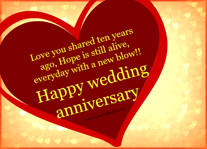10 Year Wedding Anniversary Gifts For Wife: Anniversary Pictures, Images, Graphics For Facebook