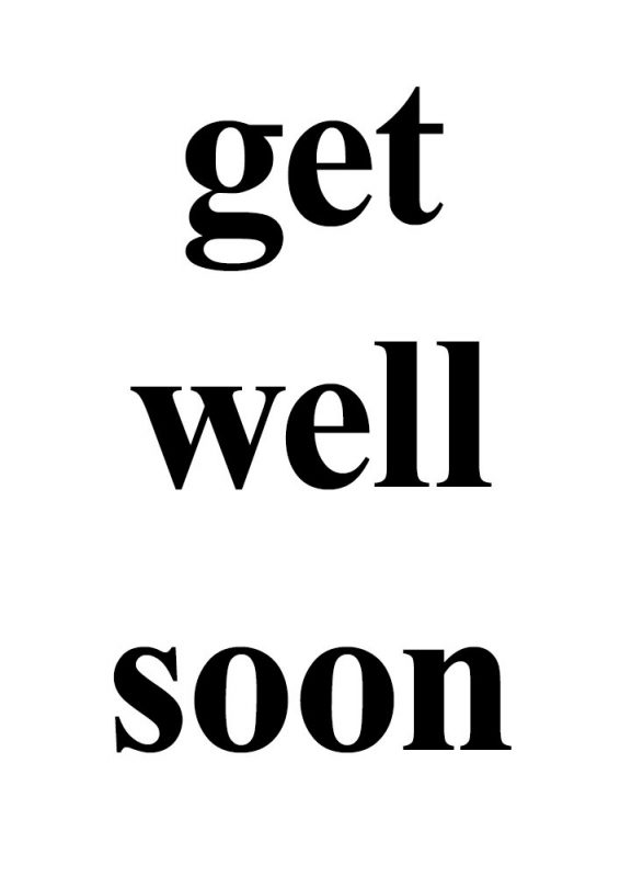 Lovely Pic Of Get Well Soon