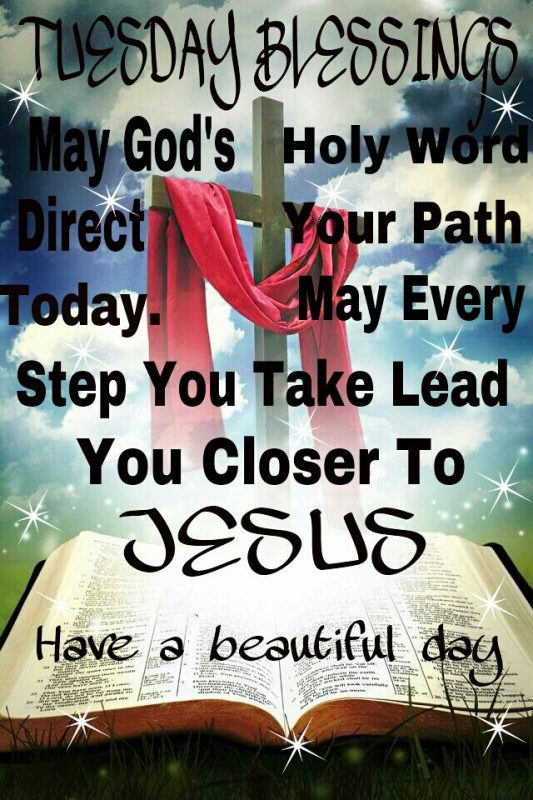 May Gods Holy Word Direct Your Path Today.