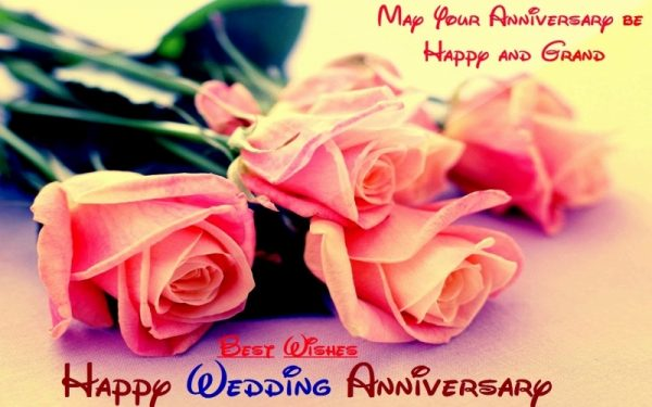 May Your Anniversary Happy And Grand