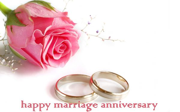 Nice Image Of Happy Marriage Anniversary