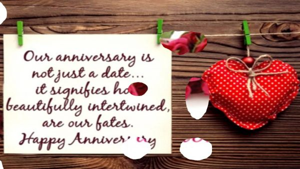 Our Anniversary Is Not Just A Date