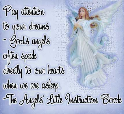 Pay Attention To Your Dreams God's Angels