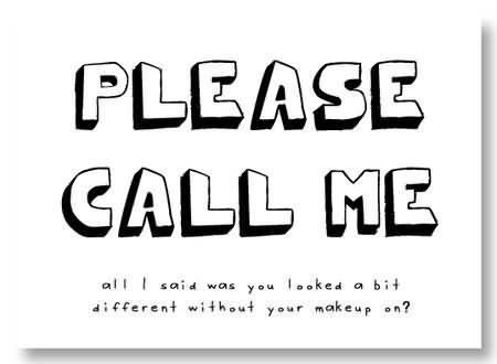 Please Call Me !