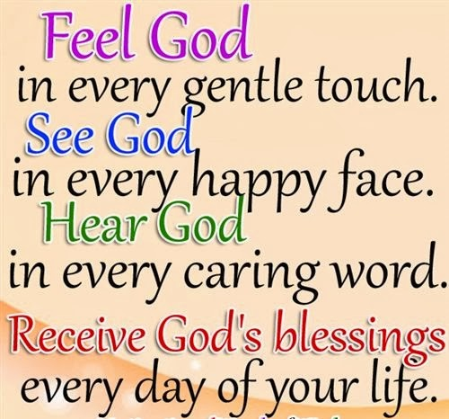 Receive Gods Blessings Every Day Of Your Life
