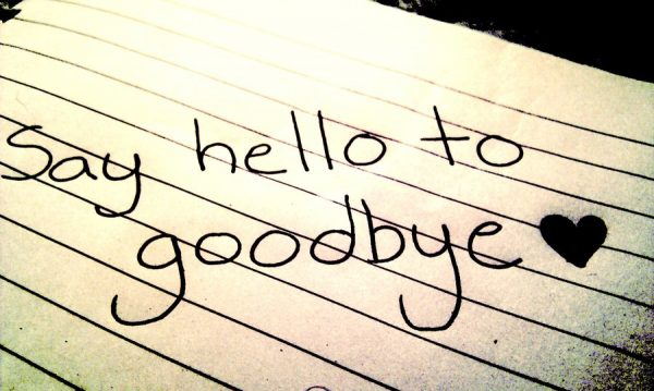 Say Hello To Good Bye