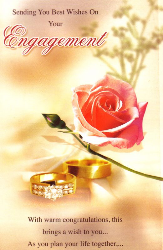 Sending You Best Wishes On Your Engagement