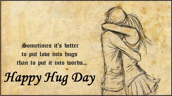 Picture: Sometimes Its Better To Put Love Into Hugs
