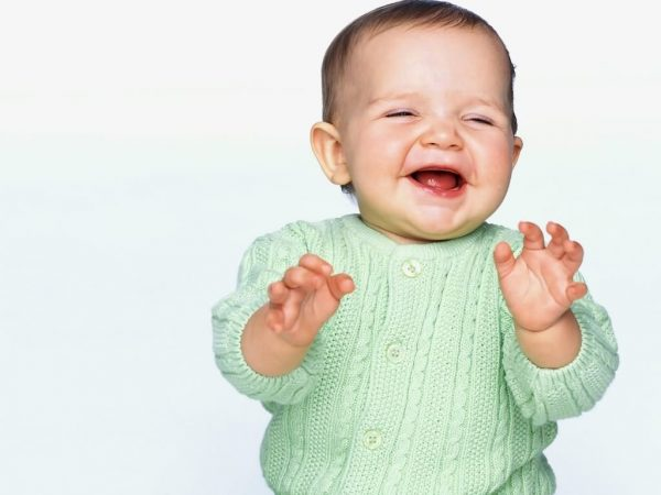Sweet Smiling Baby Graphic