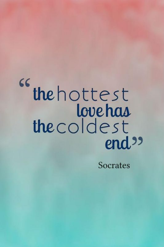 The Hottest Love Has The Coldest End