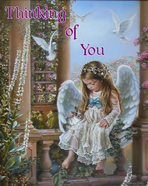 Picture: Thinking Of You Little Angel Graphic