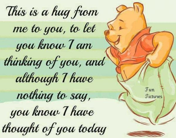 This Is A Hug From Me To You To Let You Know 7 Am Thinking Of You