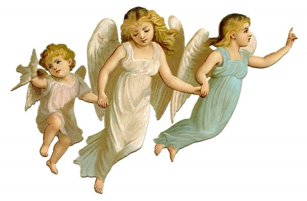 Three Children Angels