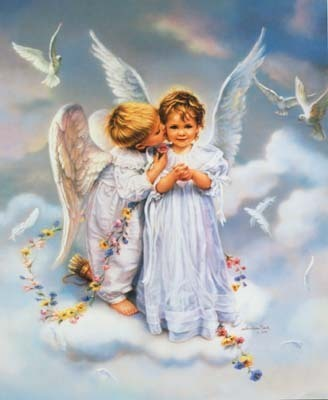 Picture: Two Little Angels Loving Picture
