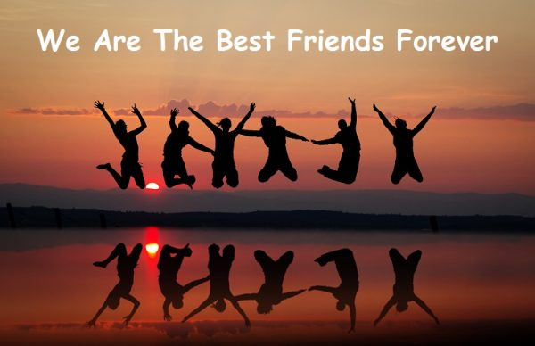 We Are The Best Friends Forever