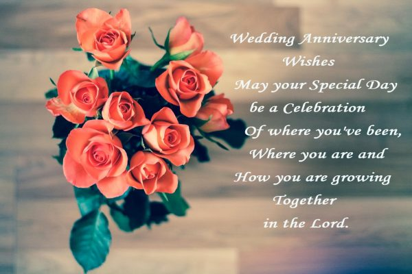 Wedding Anniversary Wishes May Your Special Day