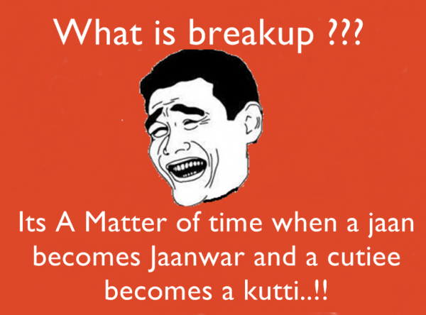 What Is Breakup Its Matter Of Time