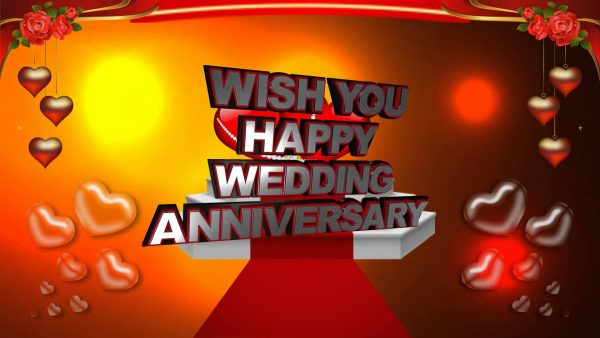 Wish You Happy Wedding Anniversary !!
