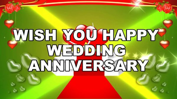 Wish You Happy Wedding Anniversary