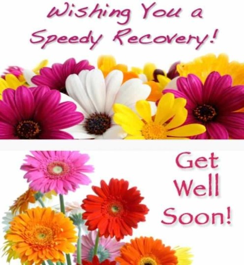 Wishing You A Speedy Recovery