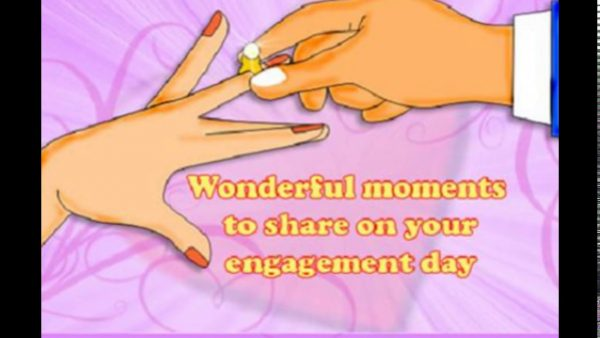 Wonderful Moments To Share On Your Engagement Day