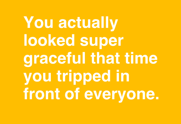 You Actually Looked Super