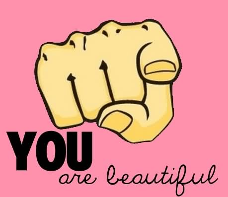 You Are Beautiful Graphic