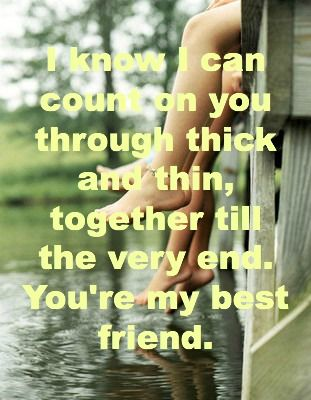You Are My Best Friend Image