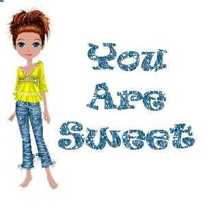 You Are Sweet Flirty Graphic