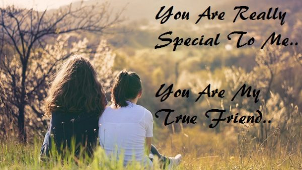 Your Are Really Special To Me